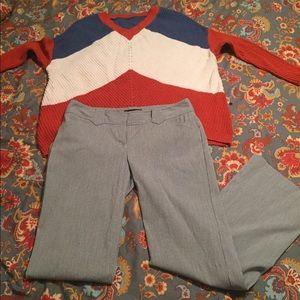 Express Editor pants size 6 short
